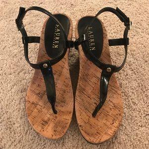 Ralph Lauren wedges sandals